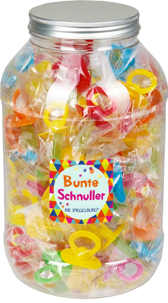 Bunter Schnuller Bunte Geschenke (Süßware)