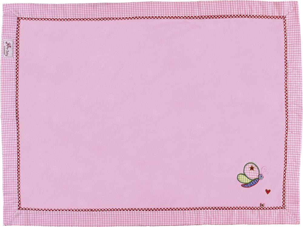 Kuscheldecke BabyGlück, rosa