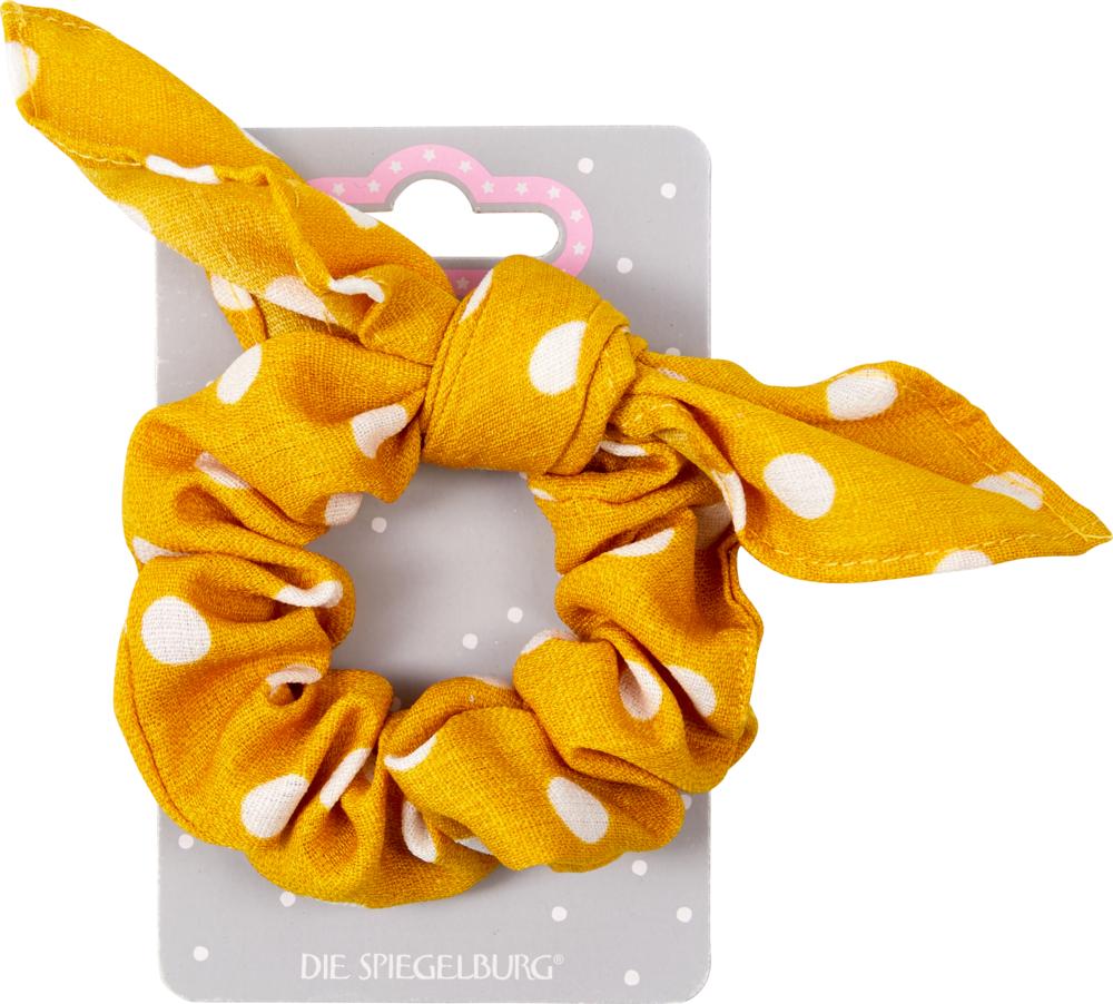 gelb, Scrunchie Dots beautiful Stars