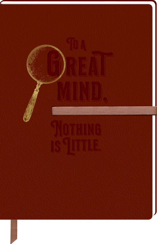 Notizbuch DIN A5 - Sherlock