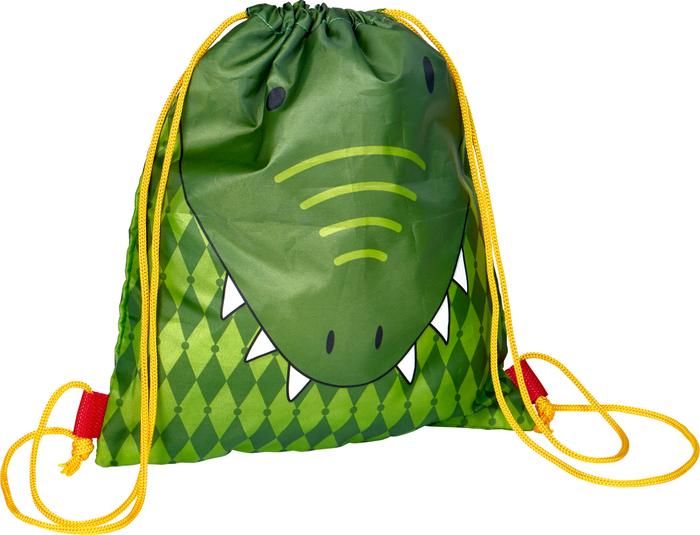 Krokodil, Kleiner Turnbeutel Bunte Geschenke