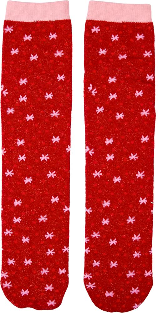 Glitzersocken Endlich Weihnachten! one size/Gr.38-41