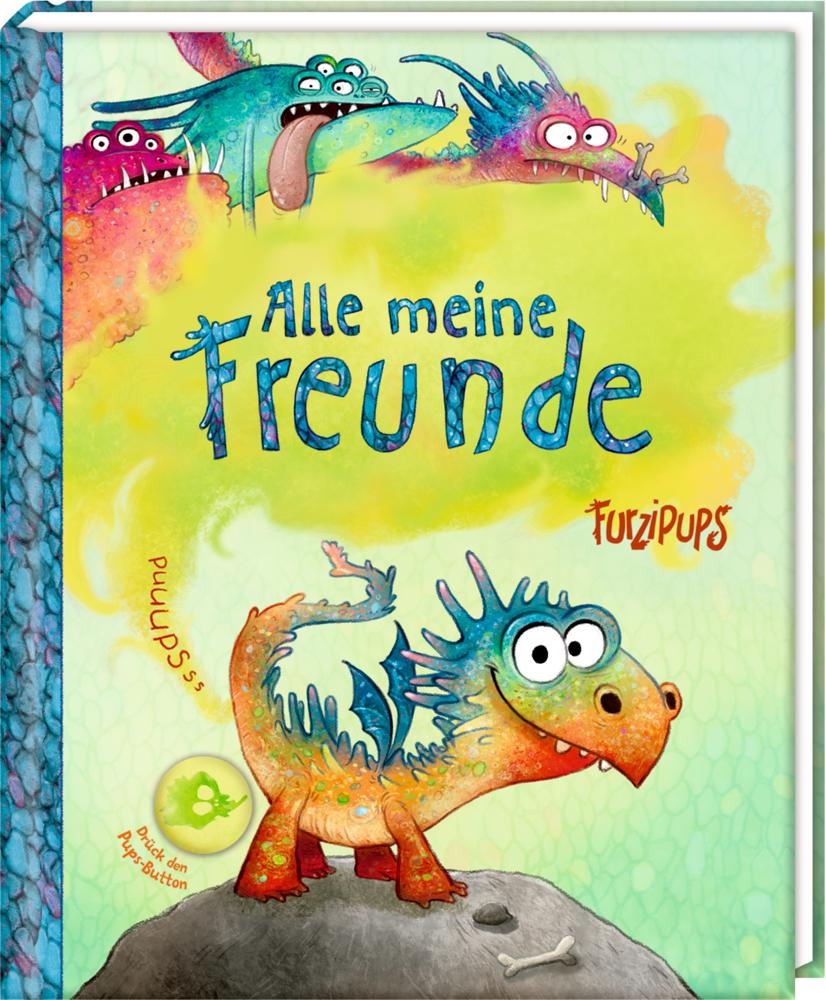 Freundebuch: Furzipups - Alle meine Freunde (mit Pups-Button)