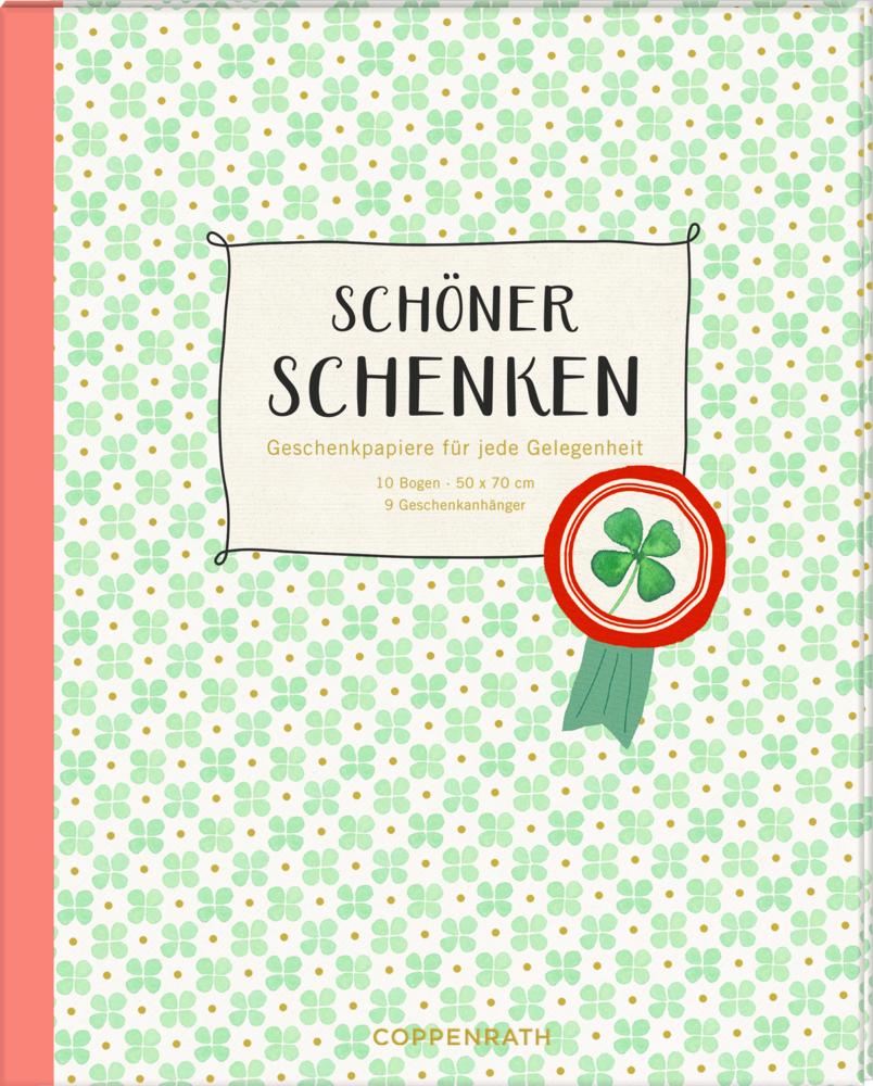Geschenkpapier-Buch - Schöner schenken (Glück)