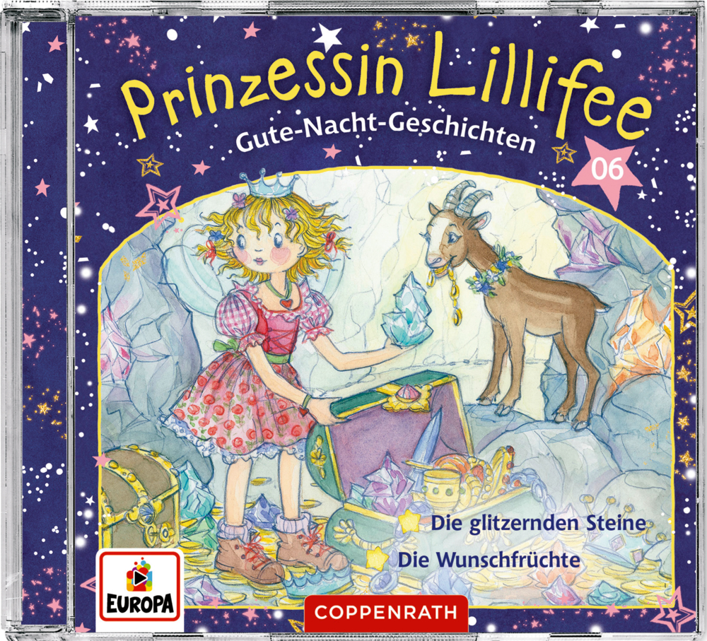 CD Hörspiel: Prinz. Lillifee - Gute-Nacht-Geschichten (CD 6)