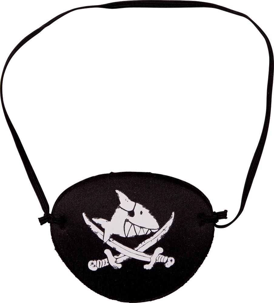 Augenklappe Capt'n Sharky