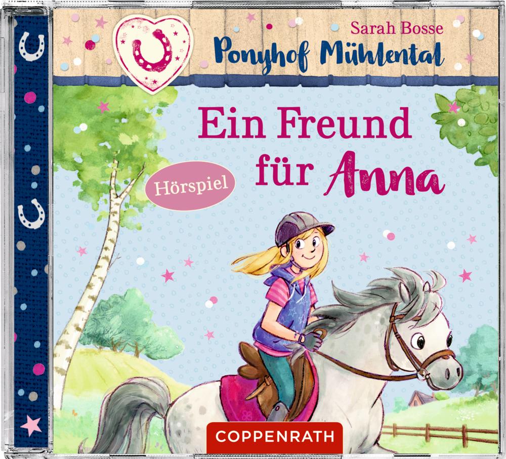 CD Hörspiel: Ponyhof Mühlental (Bd.4) - Ein Freund für Anna