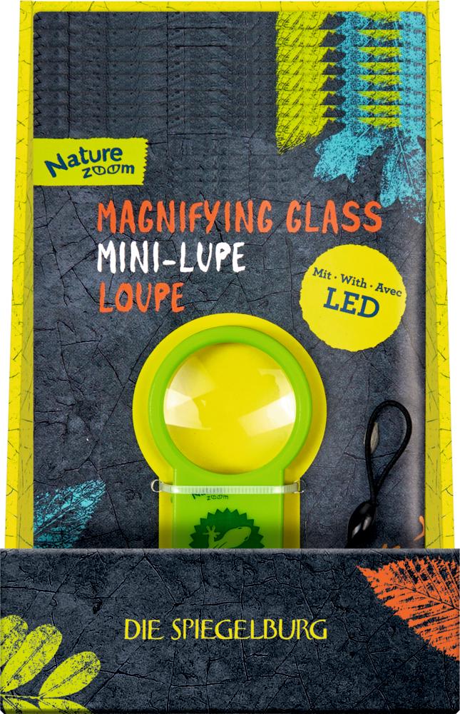 Mini-Lupe (mit LED) Nature Zoom