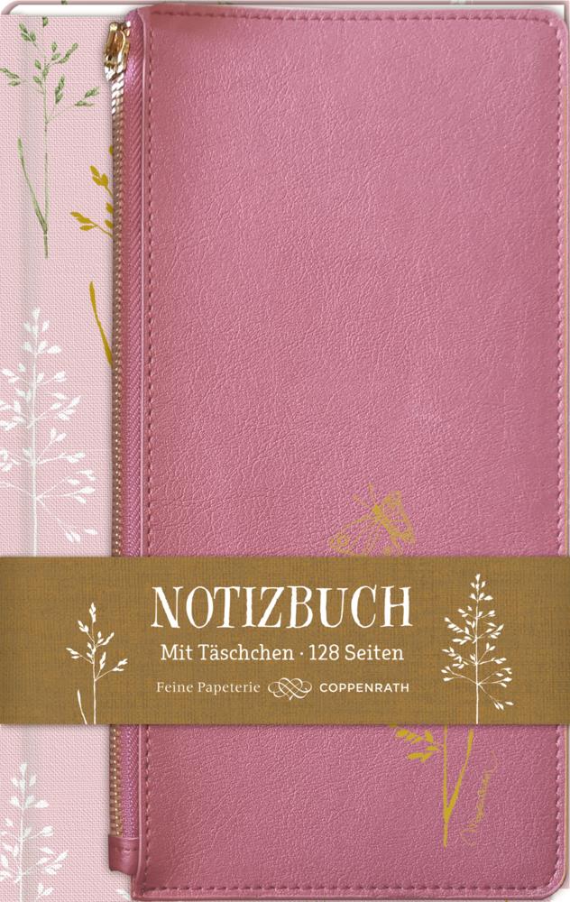 Eintragbuch mit Täschchen - Notizen (M.Bastin)