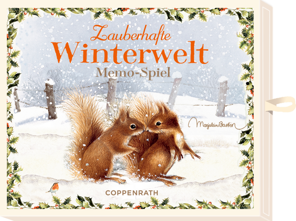 Memo-Spiel Zauberhafte Winterwelt (Bastin), Schachtelspiel