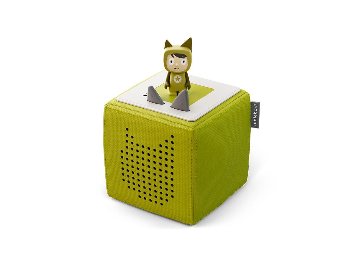Toniebox Starterset grün (Kreativ-Tonie) (Marke tonies)