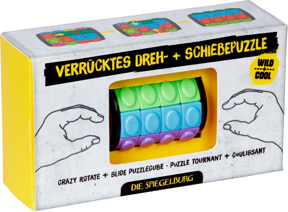 Verrücktes Dreh- + Schiebepuzzle Wild+Cool