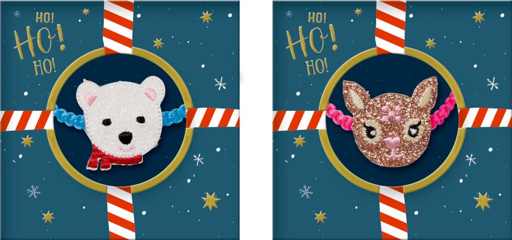 Armband Reh oder Eisbär Fröhliche Weihnachten!