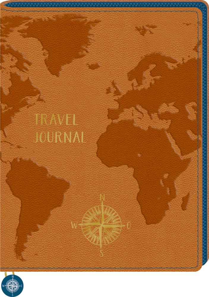 Eintragbuch: Travel Journal (Reisetagebuch Reisezeit)