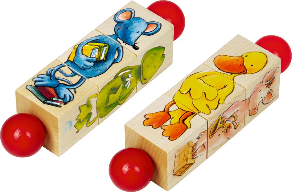 Holz-Dreh-Puzzle Die Lieben Sieben