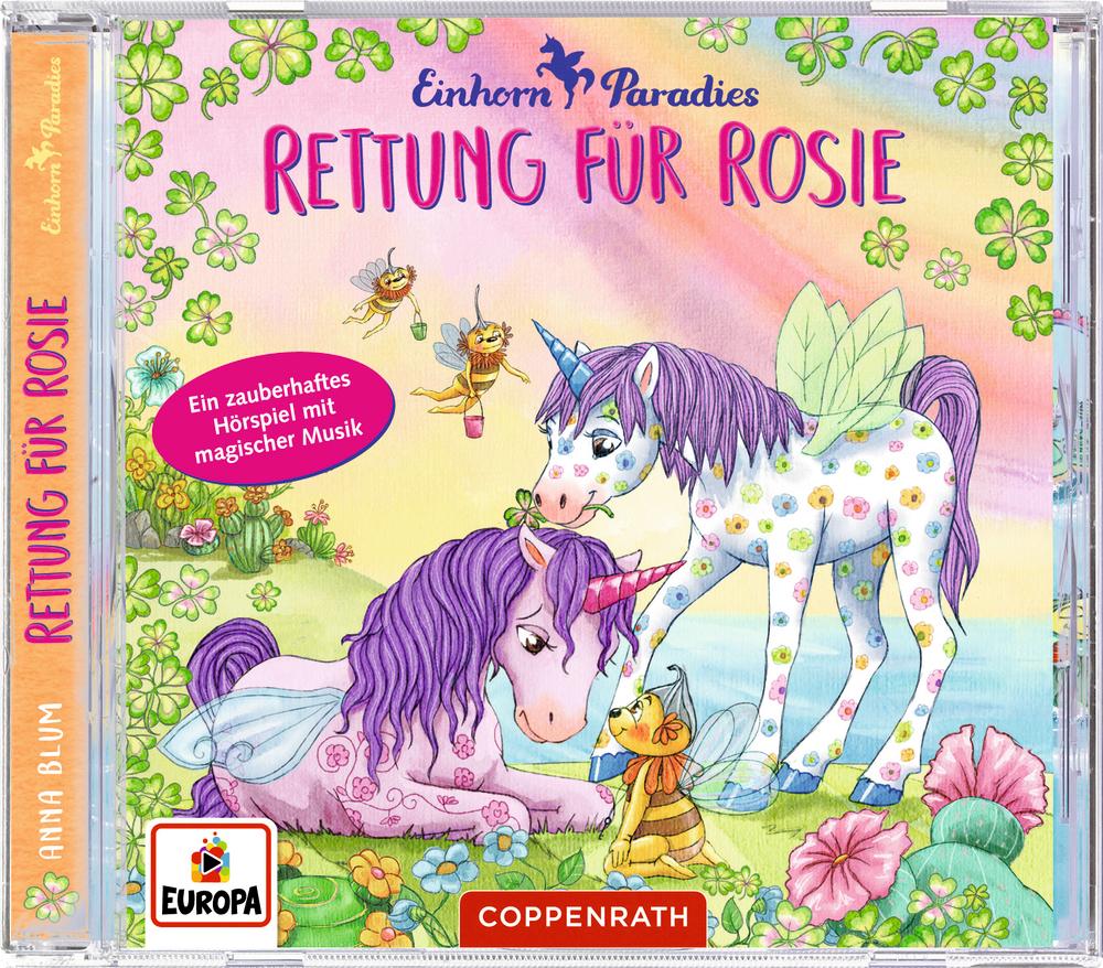 CD Hörspiel: Einhorn-Paradies (Bd. 4) - Rettung für Rosie
